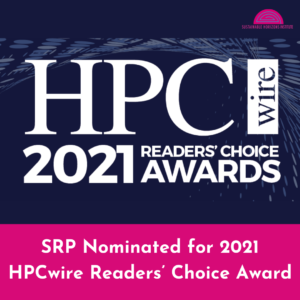 SRP Nominated for 2021 HPCwire Readers' Choice Award